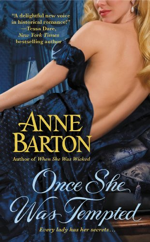 Once She Was Tempted (A Honeycote Novel) by Anne Barton