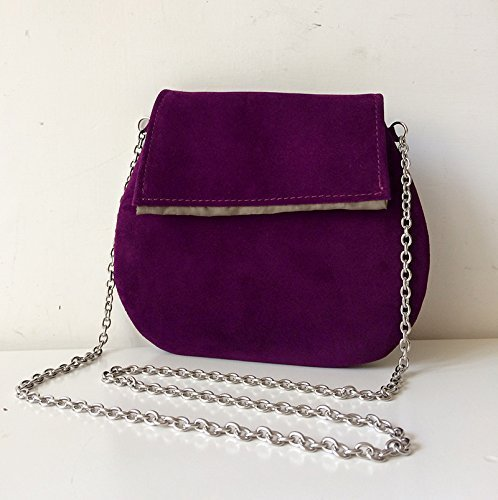 italian-leather-pochette-bbagdesign-with-steel-shoulder-strap-and-internal-satin