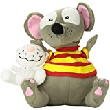 Toopy and Binoo Plush Doll, Grey/White