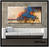 LARGE MODERN CANVAS WALL ART -
