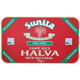 (4 PACK) - Sunita - Grape Juice & Sultana Halva   75g   4 PACK BUNDLE