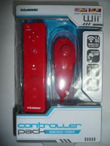 Nunchuck & Remote Game Controller Bundle For Nintendo Wii