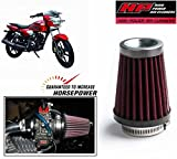 HP Long Cold Air Intake High Performance Air Filter-TVS Phoenix 125