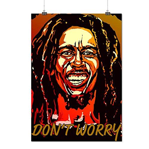 Bob Marley Cantante Famoso Opaco/Lucida Poster A3 (42cm x 30cm) | Wellcoda