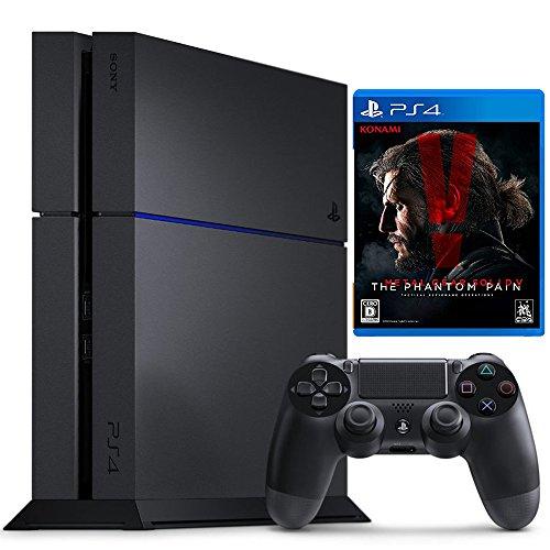 PlayStation 4 ジェット・ブラック (CUH-1200AB01) +メタルギアソリッドV ファントムペイン