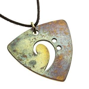 Bass Pick Necklace