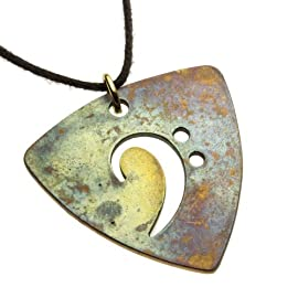 Bass Pick Necklace