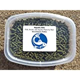 Aquatic Arts Invertebrate Pellets - 1 Year Supply - High Quality Food for Shrimp, Crayfish, Crabs, Snails and more