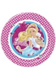 Barbie Paper Party Plates - 1 Pack of 8