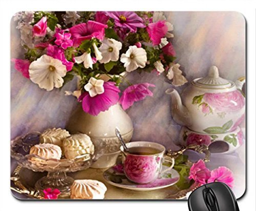 cookies-for-tea-time-mouse-pad-mousepad-flowers-mouse-pad
