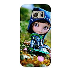 Stylish Kid Cute Multicolor Back Case Cover for Samsung Galaxy S6 Edge