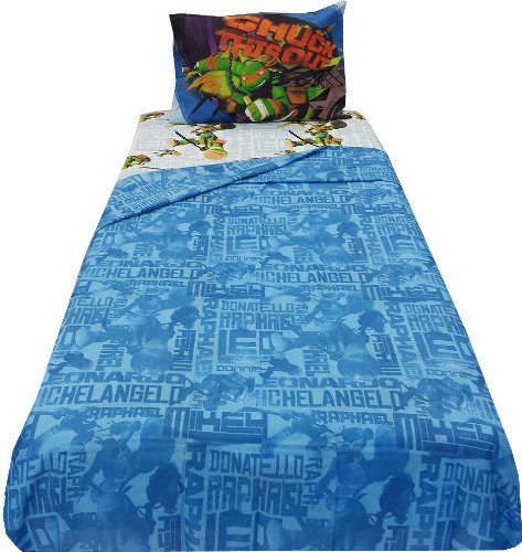 Nickelodeon Teenage Mutant Ninja Turtles Sheet Set - Twin