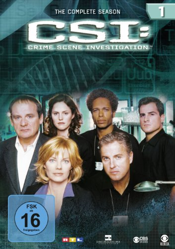 CSI: Crime Scene Investigation - Die komplette Season 1 [6 DVDs]