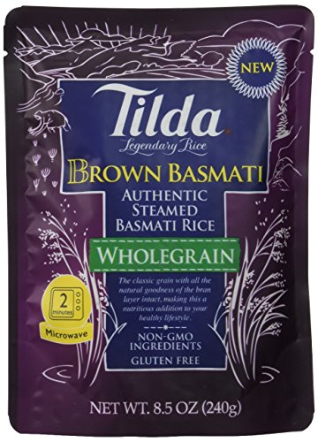 Tilda Legendary Rice Steamed Basmati, Brown, 8.5 Ounce (Pack of 6) (Microwave Fried Rice compare prices)