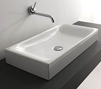 27.6 in. Ceramic Bathroom Sink