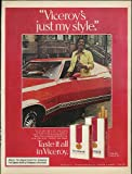 Viceroy's just my style ad 1973 Negro in Ford Gran Torino Sport