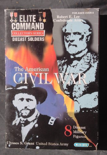 Picture of Blue Box Elite Command Collector's Series Diecast Soldiers, The American Civil War, U S & Confederate Army / Grant & Lee, 8 Diecast Military Figures (B004OE6HGE) (Military Action Figures)