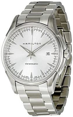 Hamilton Men's H32665151 Jazzmaster Silver Dial Watch