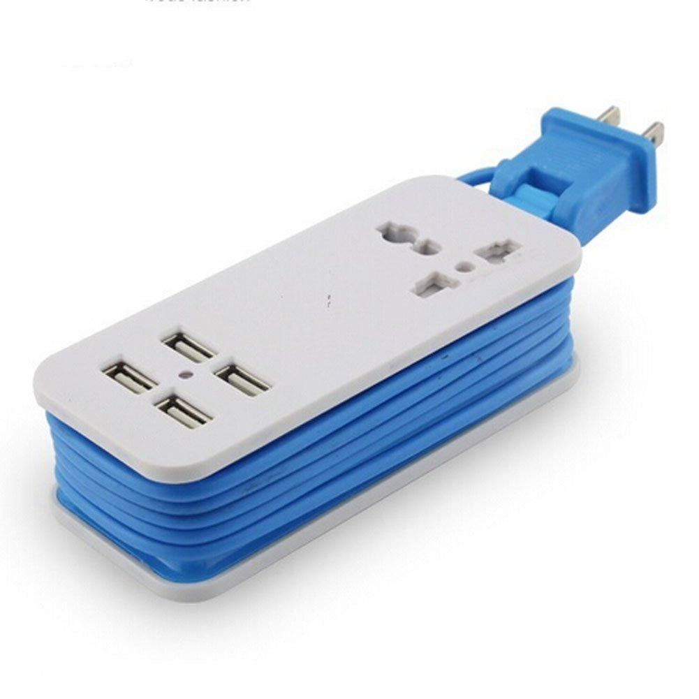Top 10 Best Travel Power Strips With USB 2018-2019 cover image