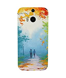 Autumn Alley HTC One M8 Case