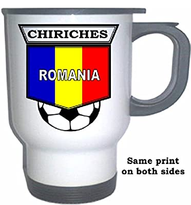 Vlad Chiriches (Romania) Soccer White Stainless Steel Mug