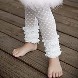 Huggalugs Angel White Lacettes (choose size) (0- 12 Months)
