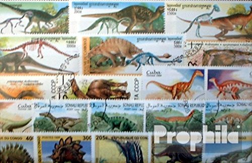 motives-50-different-dinosaur-stamps-stamps-for-collectors