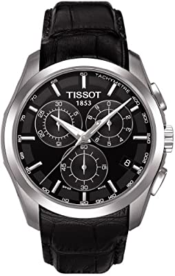Tissot T-Trend Couturier Black Dial Chronograph Mens Watch T0356171605100 by Tissot