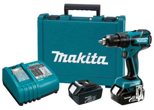 Makita LXPH05 18-Volt LXT Lithium-Ion Brushless 1/2-Inch Hammer Driver-Drill Kit