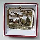 Austin Texas Christmas ORNAMENT 6th Street Music Bat Bridge Brass City State TX Souvenir Travel Gift
