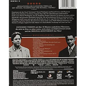 American Gangster Steelbook [Blu-ray] [Import allemand]
