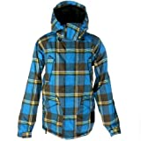 Snow Jacket Men Vans Andreas Wiig Insulated Jacket Vibrant Blue Yarndye S