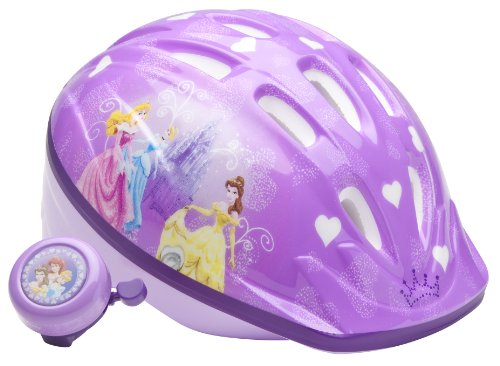 Disney Princess Girls Princess Child Microshell Helmet  (Purple)