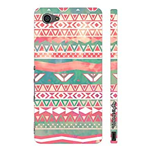 Sony Xperia Z5 Compact Aztec Art 3 designer mobile hard shell case by Enthopia