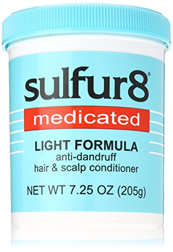 Sulfur8 Medicated Light Formula Anti-Dandruff Conditioner, 7.25 Ounce (Medicated Hair Grease compare prices)