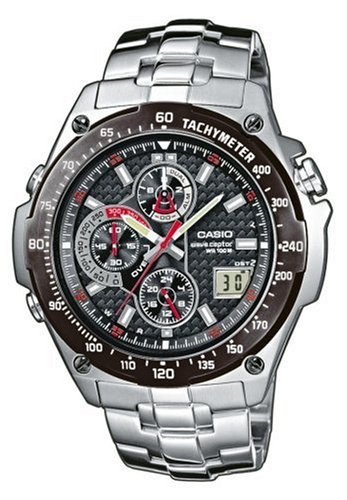 Casio WVQ-570DBE-1AVER Men's Wave Ceptor Radio Controlled Analogue Bracelet Watch