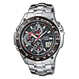 Casio WVQ-570DBE-1AVER Men's Wave Ceptor Radio Controlled Analogue Bracelet Watchby Casio