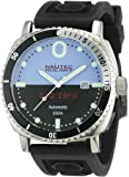 Nautec No Limit Herren-Armbanduhr Sub Zero SZ AT/RBSTSTBKBL
