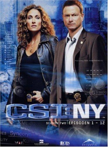 CSI: NY - Season 2.1 (3 DVDs)