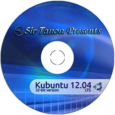 Kubuntu Linux 12.04 [32-bit CD] plus Quick-Reference Guide