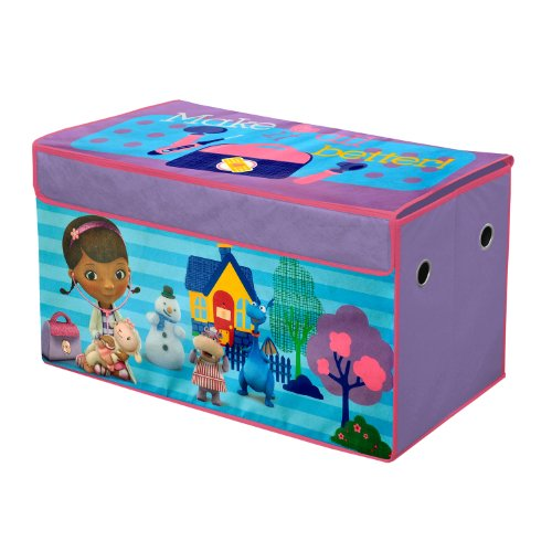 Minnie Mouse Bedroom 3 Drawer Storage Kids Wooden Box Pink: Toy Chests For Toddlers