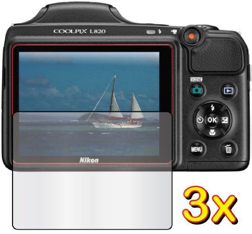 3-x-nikon-coolpix-l820-de-pantallas-para-camaras-digitales-de-pantalla-protector-para-de-ajuste-exac