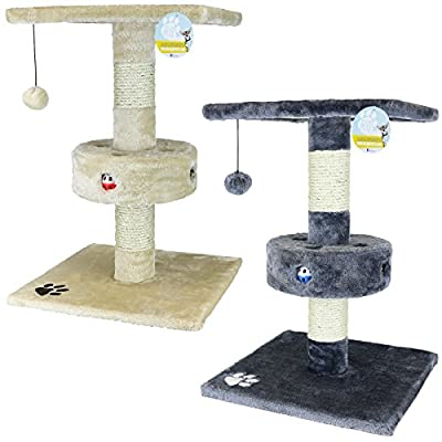 Me & My Pets Cat Play Tree and Scratcher - Choice of Colours