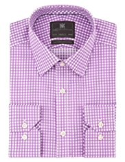 Ultimate Performance Pure Cotton Gingham Checked Shirt