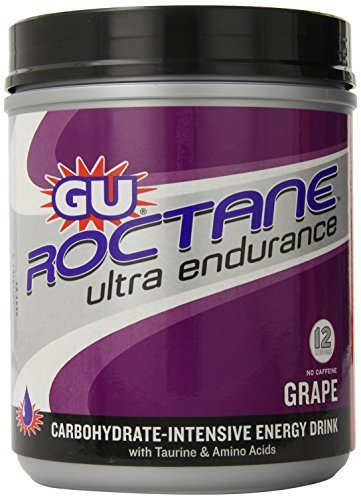 GU Roctane Ultra Endurance Energy Drink Mix, Grape, 1.72lbs Canister by GU Energy Labs (Amino Energy Grape 70 Servings compare prices)