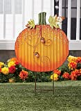 Metal Pumpkin Stake