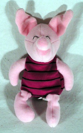"Piglet Stuffed Plush Toy ~ Approx. 8.5"" Tall - 1"