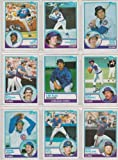 Chicago Cubs 1983 Topps Baseball Team Set with year-end traded cards (Ryne Sandberg Rookie)