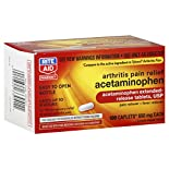 Rite Aid Pharmacy Acetaminophen, Arthritis Pain Relief, 650 mg, Extended Release Tablets, 100 caplets