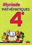 MATHS 4E MYRIADE MANUEL PF 11